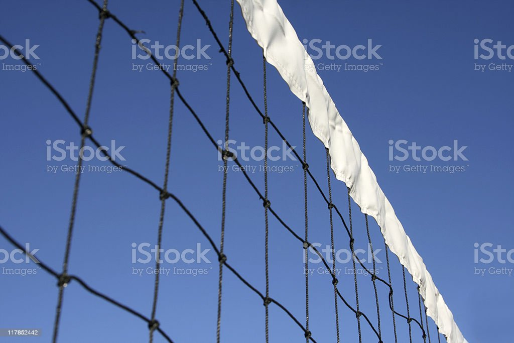 Vollyball Net royalty-free stock photo