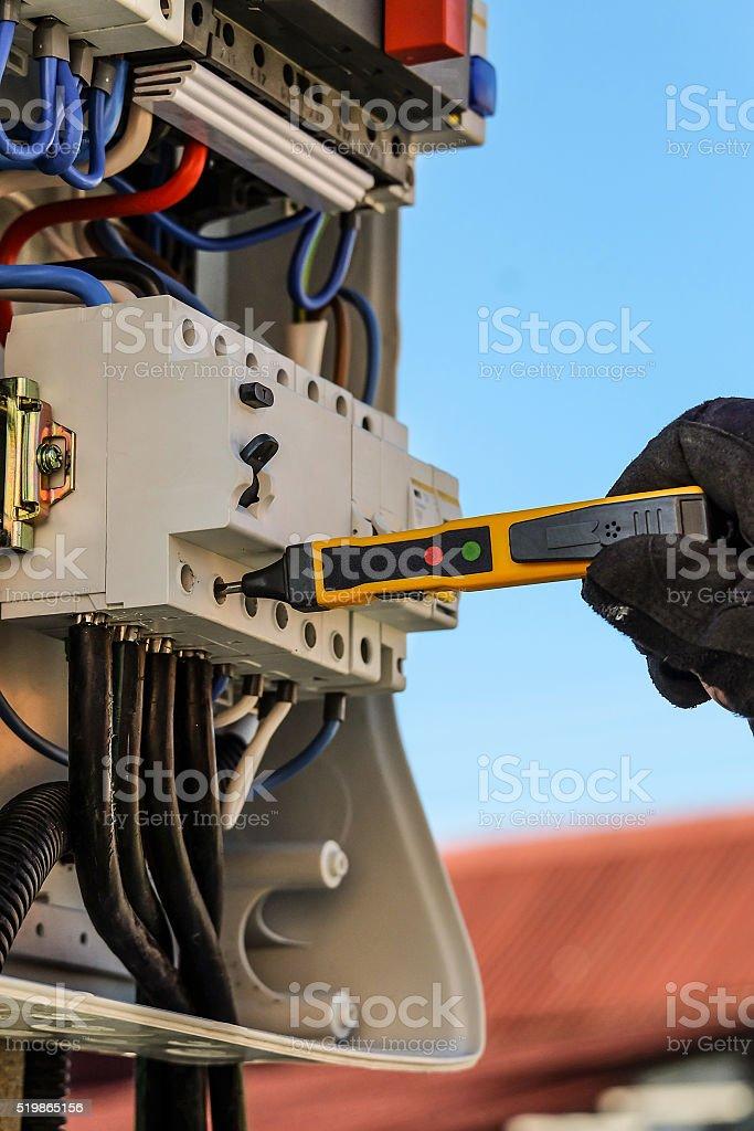 Voltage control stock photo