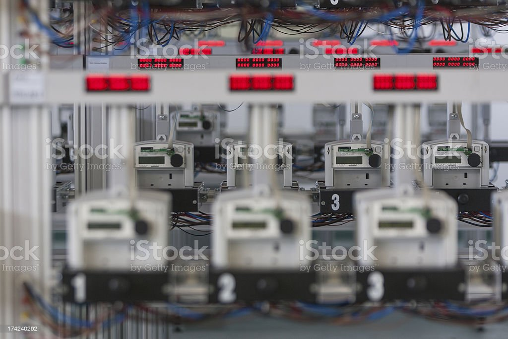 voltage royalty-free stock photo