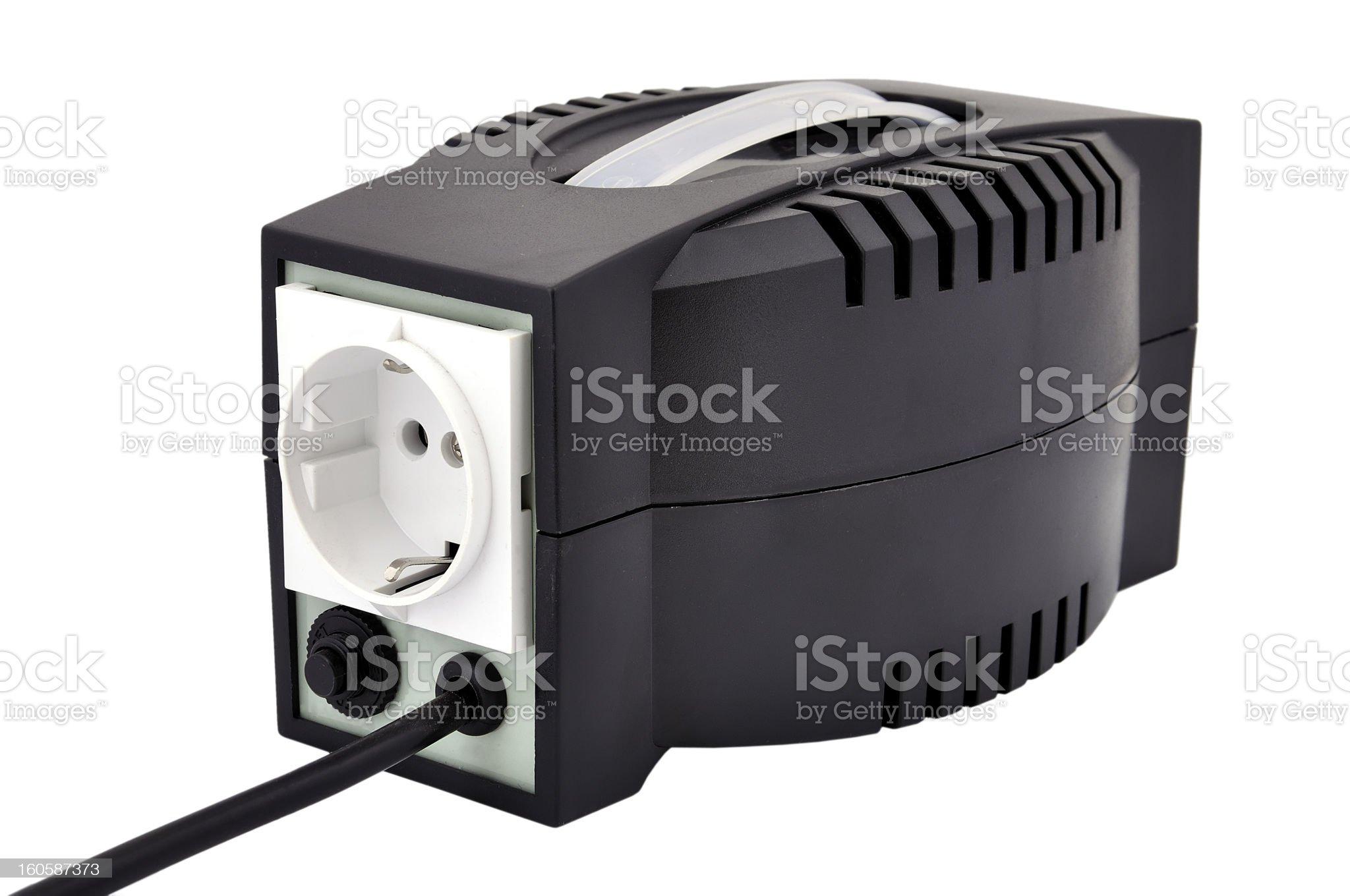 voltage regulator royalty-free stock photo