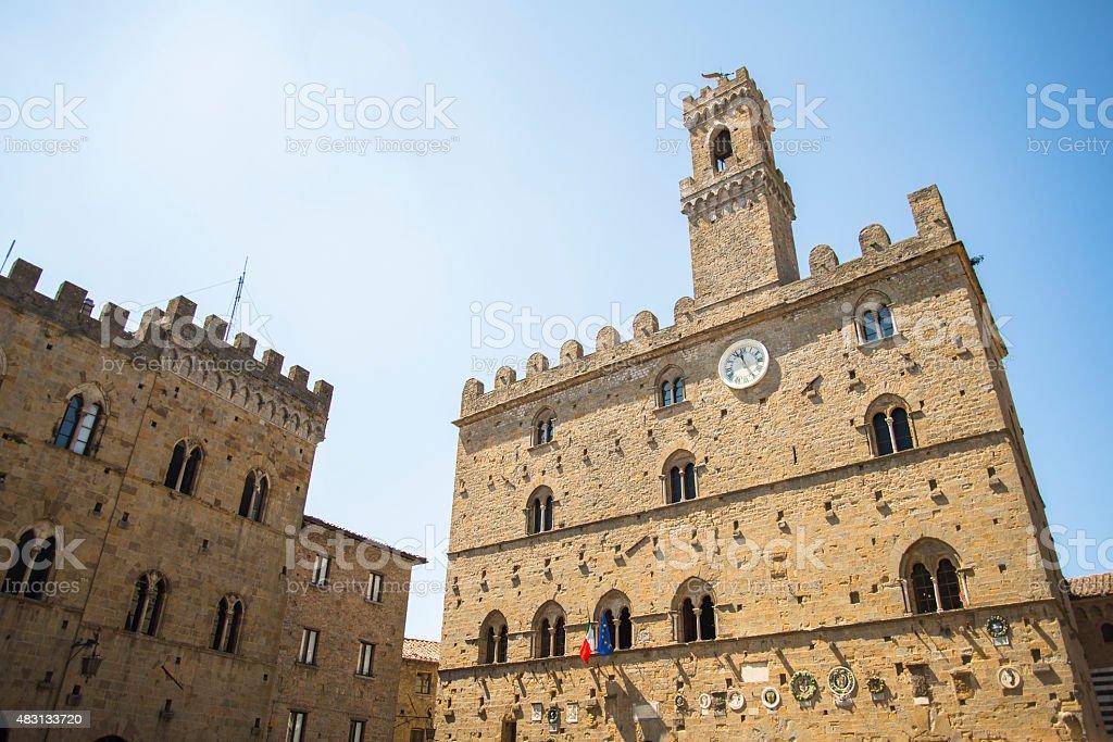 Volterra, Italy. stock photo