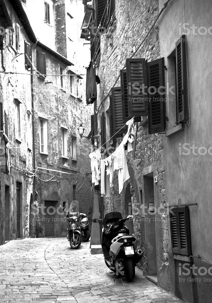 Volterra. stock photo