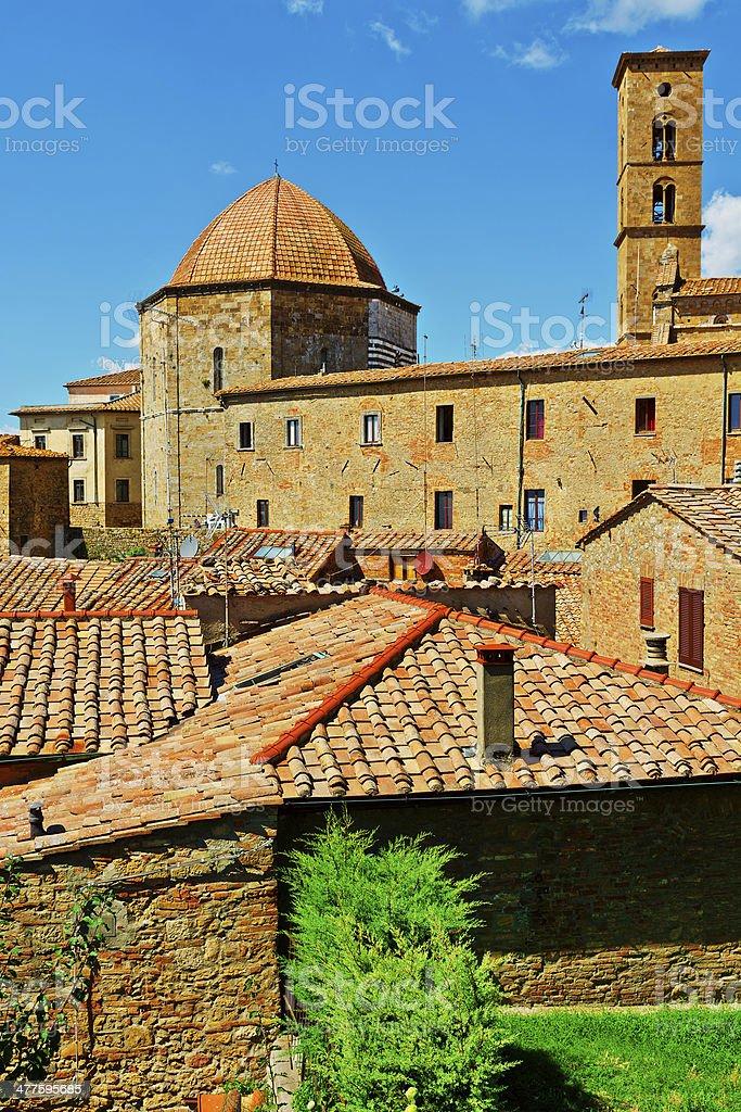 Volterra royalty-free stock photo
