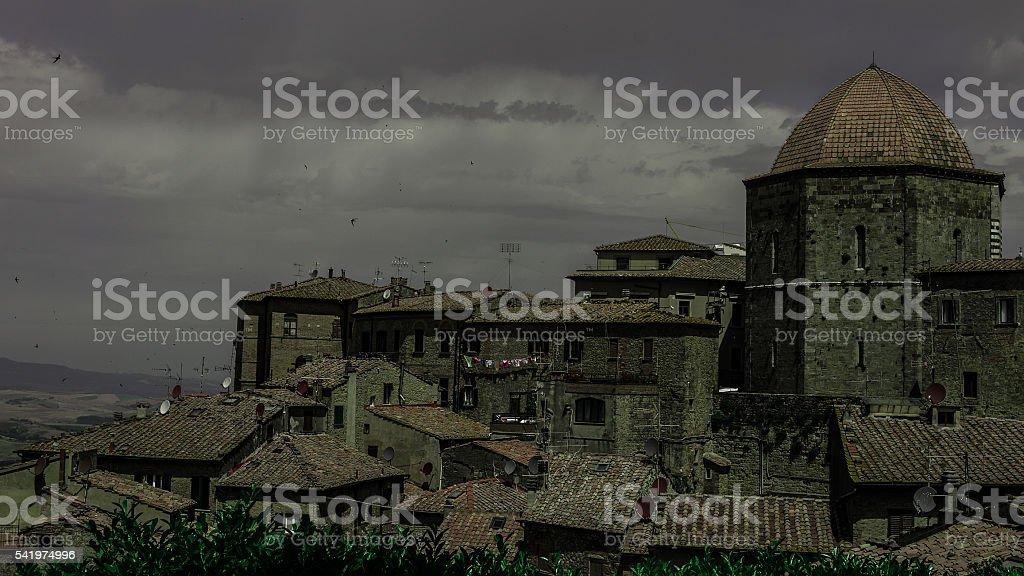 Volterra stock photo
