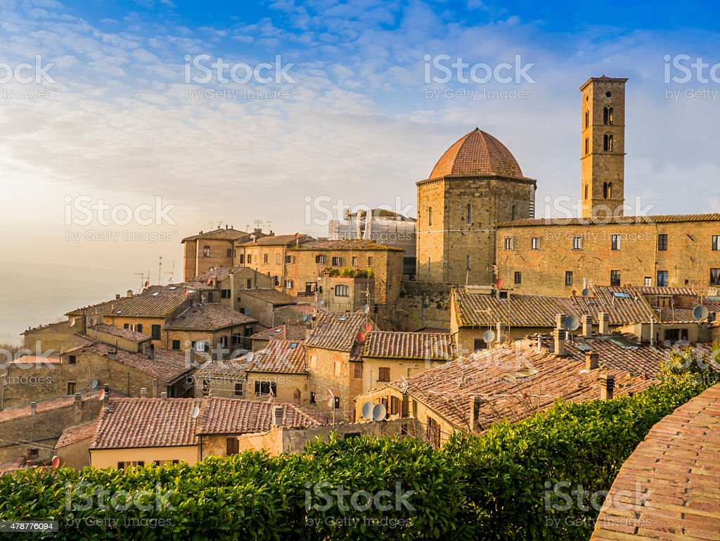 Volterra, Tuscany, Italy stock photo