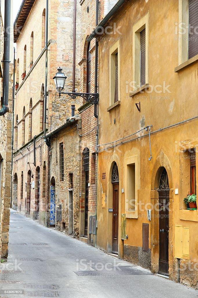 Volterra, Tuscany stock photo