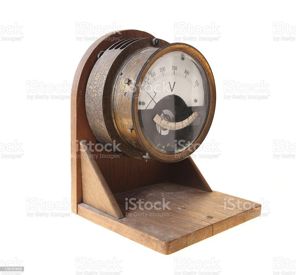 Voltmeter royalty-free stock photo