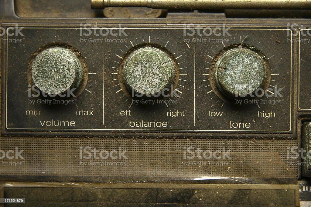 volume, balance and tone royalty-free stock photo