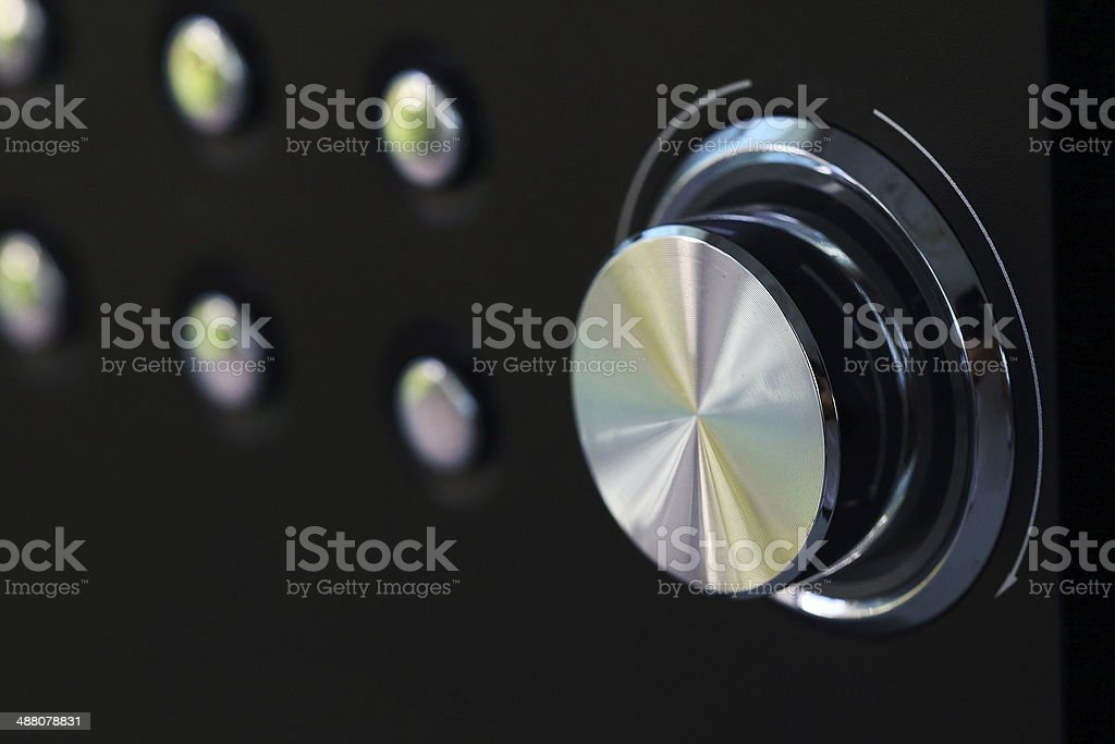 volume button royalty-free stock photo
