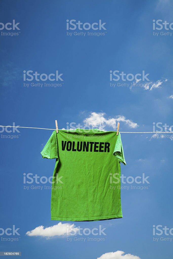 Volunteer Concept royalty-free stock photo