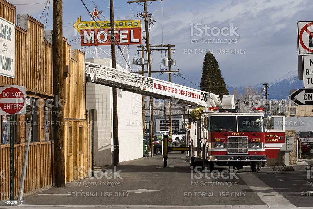 Volunteer Firefighters royalty-free stock photo