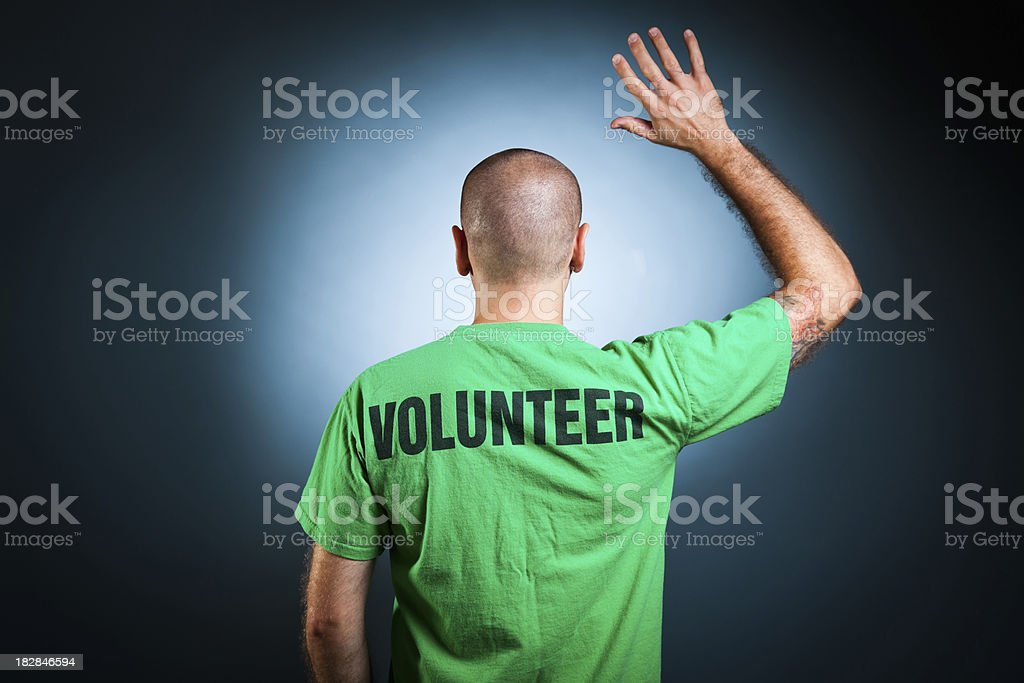Volunteer stock photo