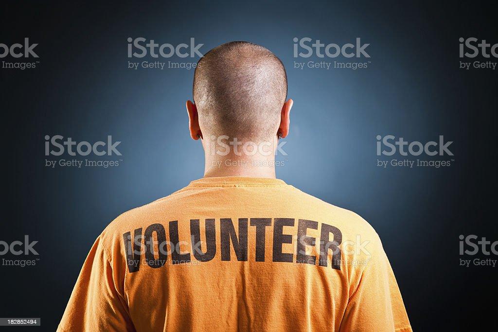 Volunteer royalty-free stock photo