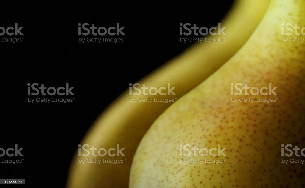 Voluptuous Pears royalty-free stock photo