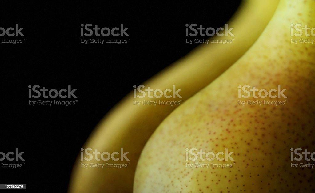 Voluptuous Pears stock photo