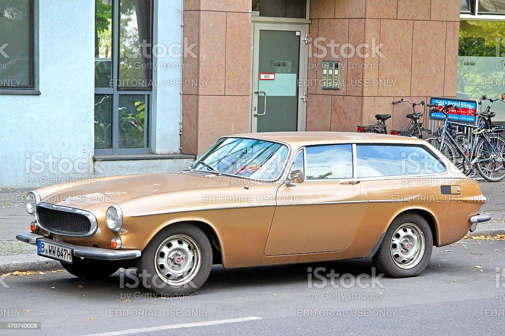 Volvo 1800ES stock photo