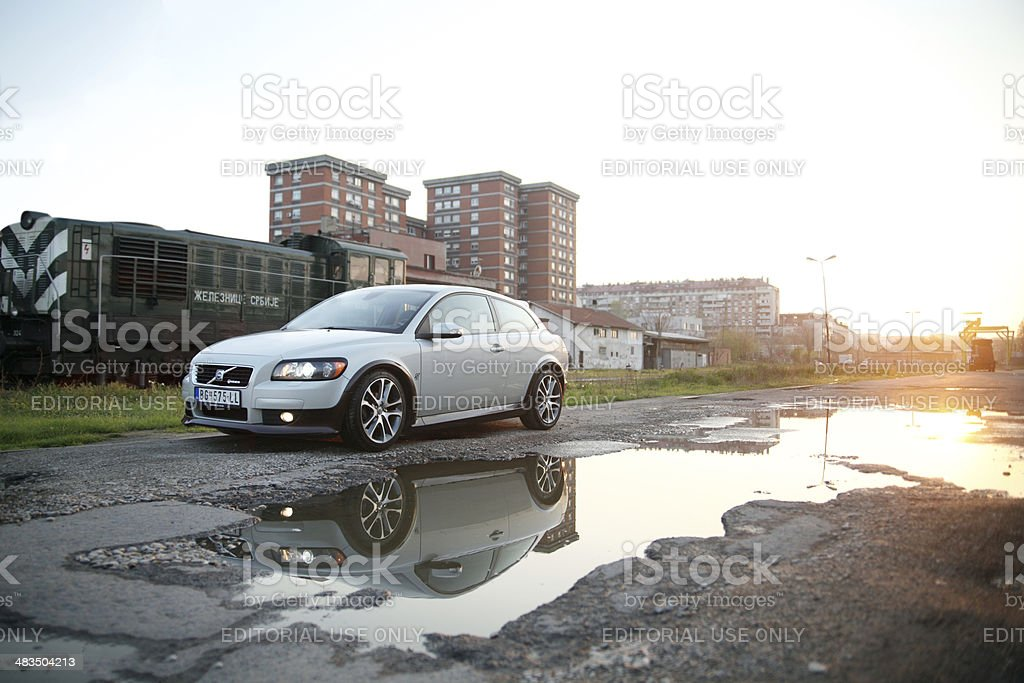 Volvo C30 tuning by Heico Sportiv royalty-free stock photo
