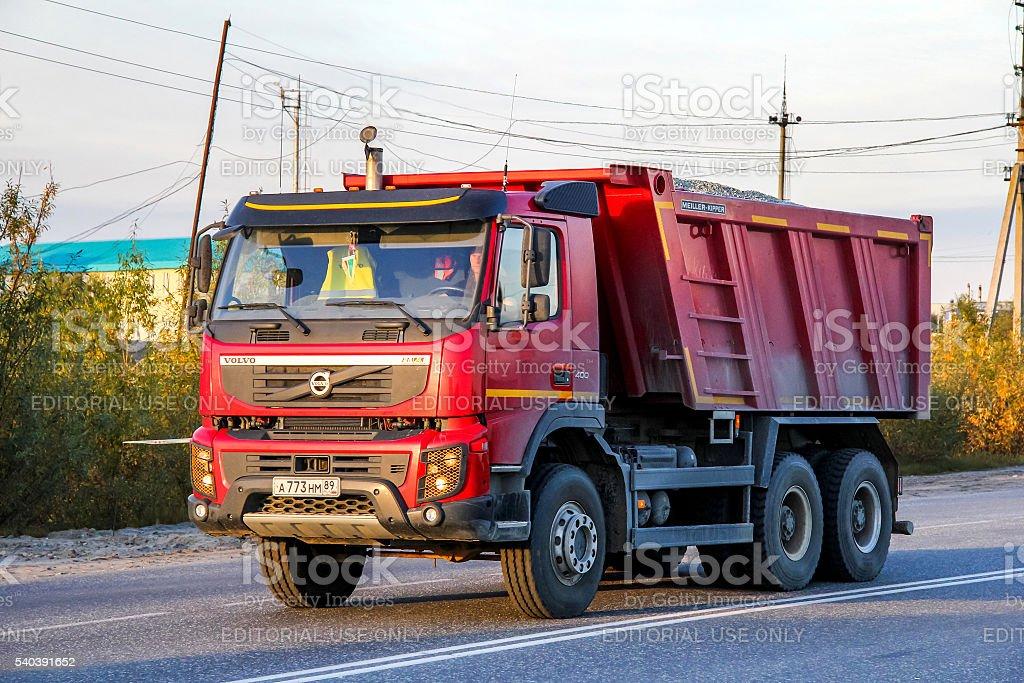Volvo FMX.400 stock photo