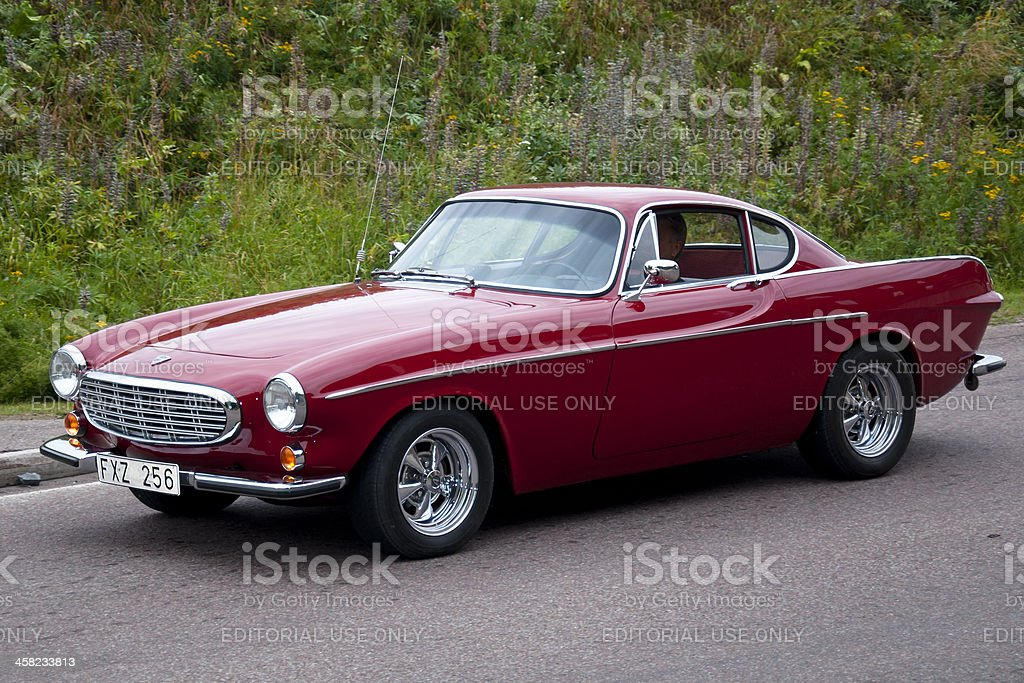 Volvo P1800 from 1967 stock photo