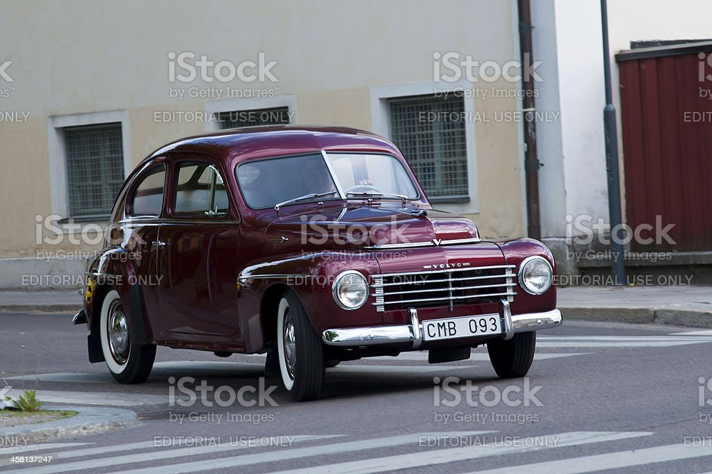 Volvo PV 444 from 1953 royalty-free stock photo