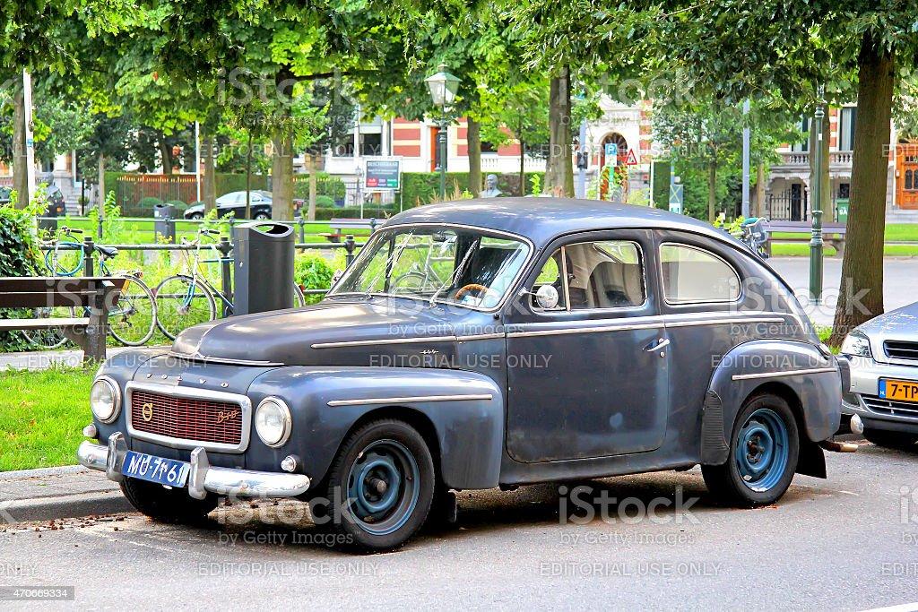 Volvo PV544 stock photo