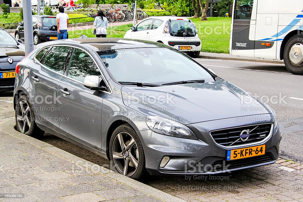 Volvo V40 stock photo