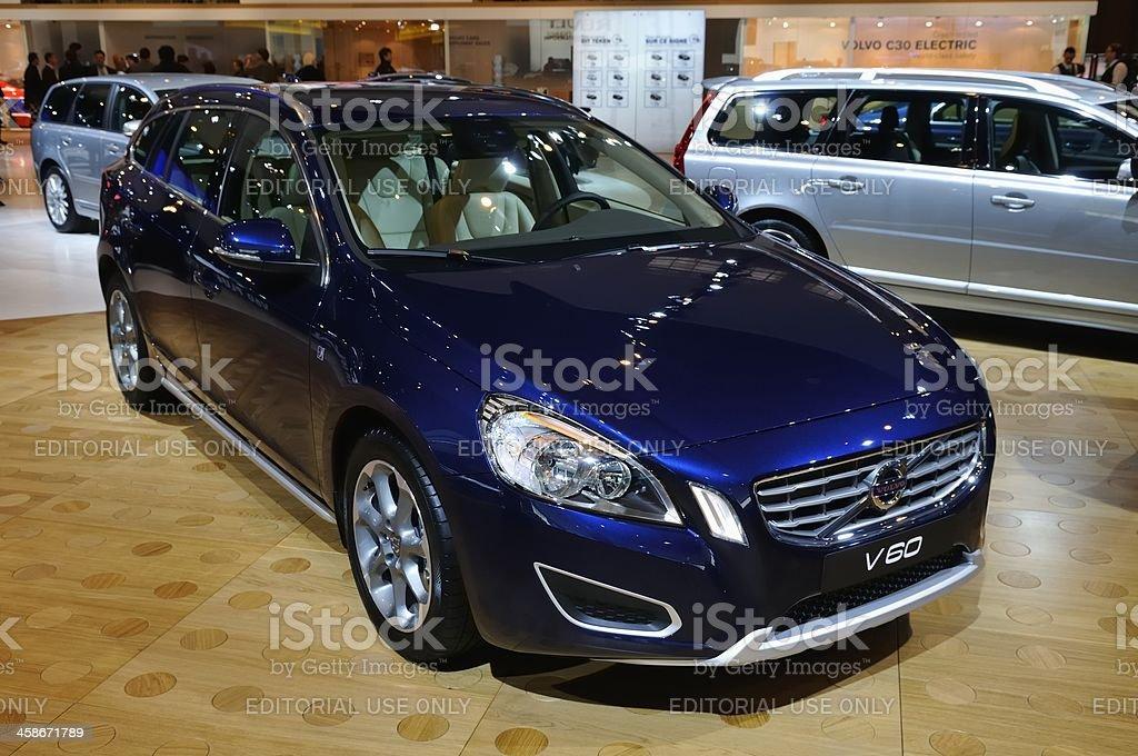 Volvo V60 royalty-free stock photo