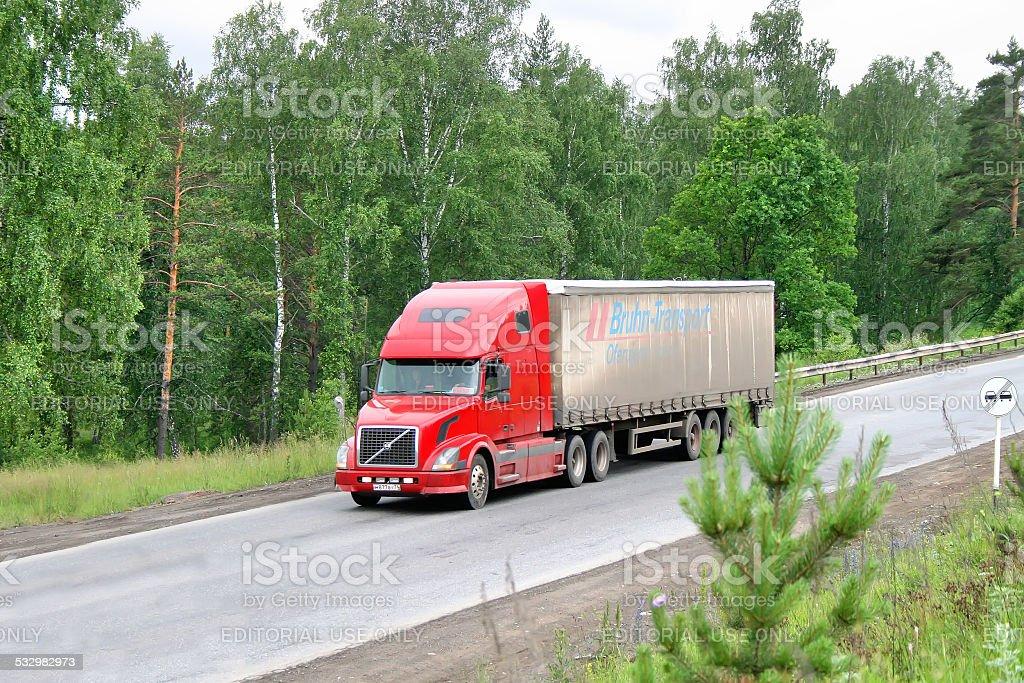 Volvo VNL64T stock photo