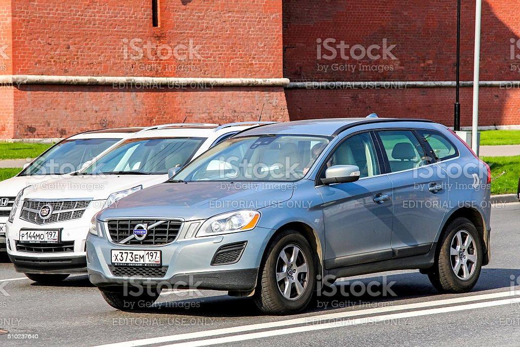 Volvo XC60 stock photo