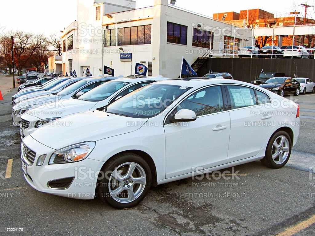 Volvos for Sale stock photo