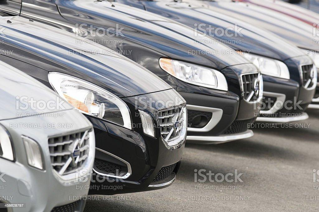 Volvos stock photo