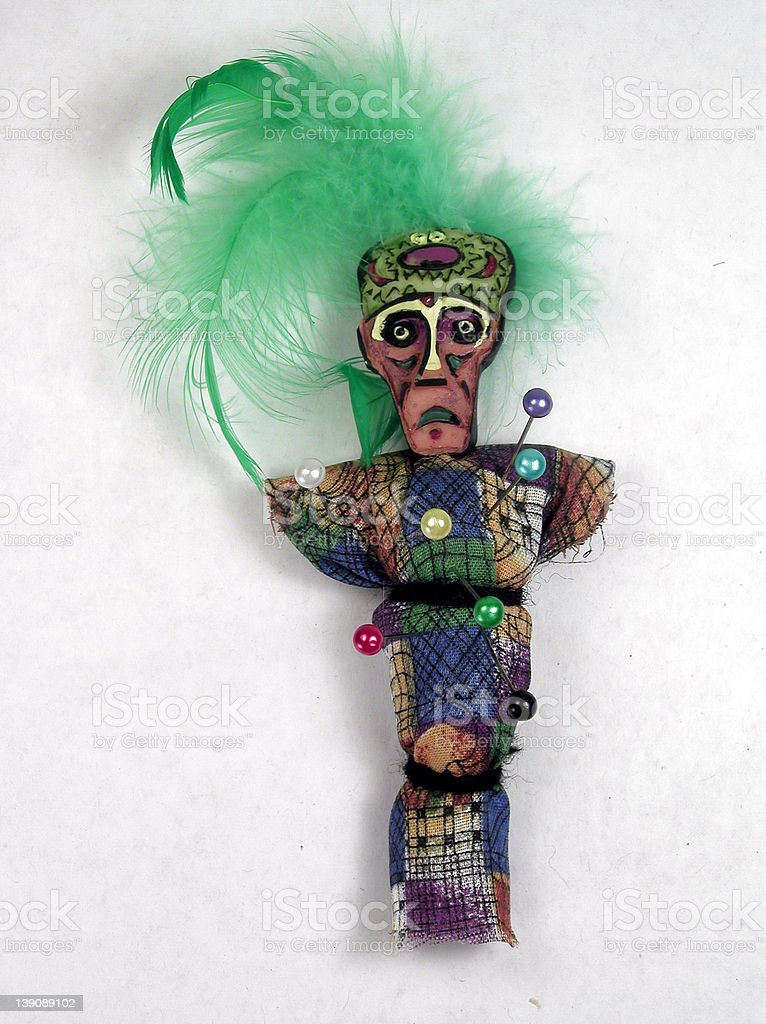 Voodoo Doll royalty-free stock photo