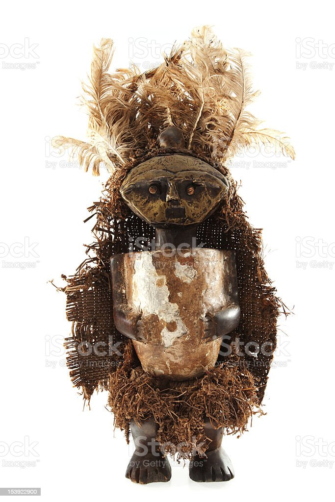Voodoo doll royalty-free stock photo