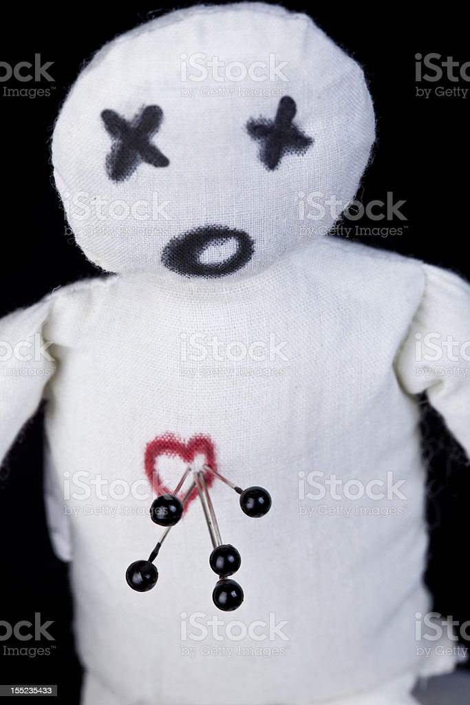 Voodoo Doll stock photo