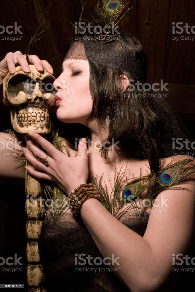 Voodoo lover royalty-free stock photo