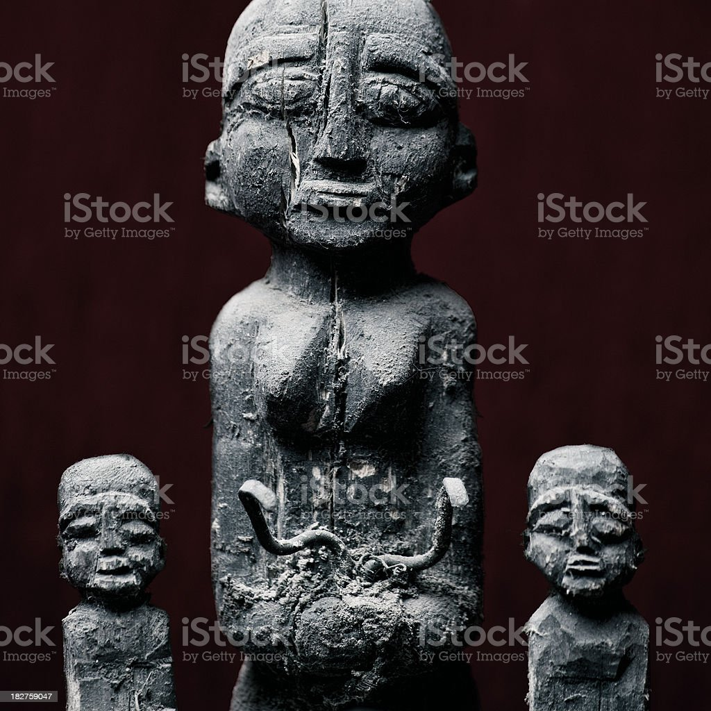 voodoo power royalty-free stock photo