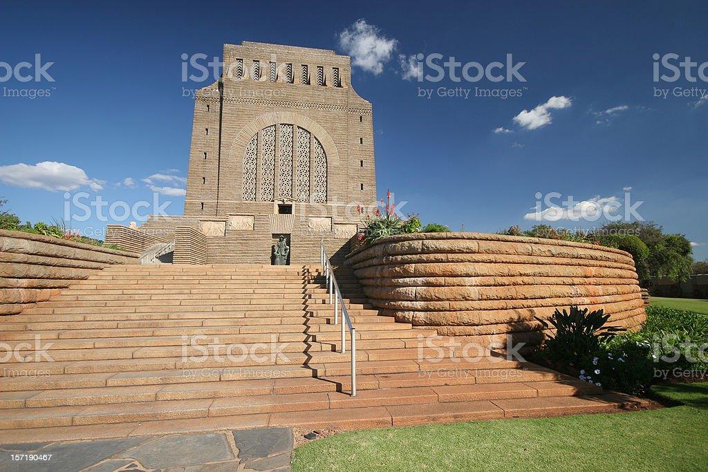 voortrekker monument royalty-free stock photo