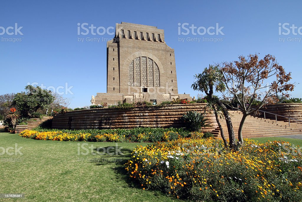 Voortrekker Monument stock photo