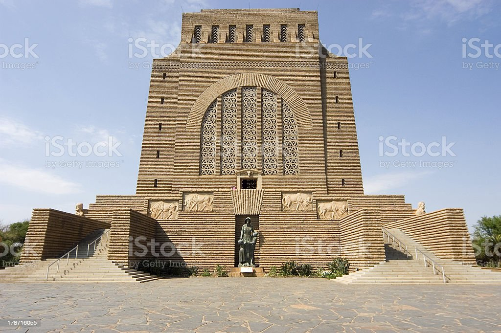 Voortrekker Monument, Pretoria, South Africa stock photo
