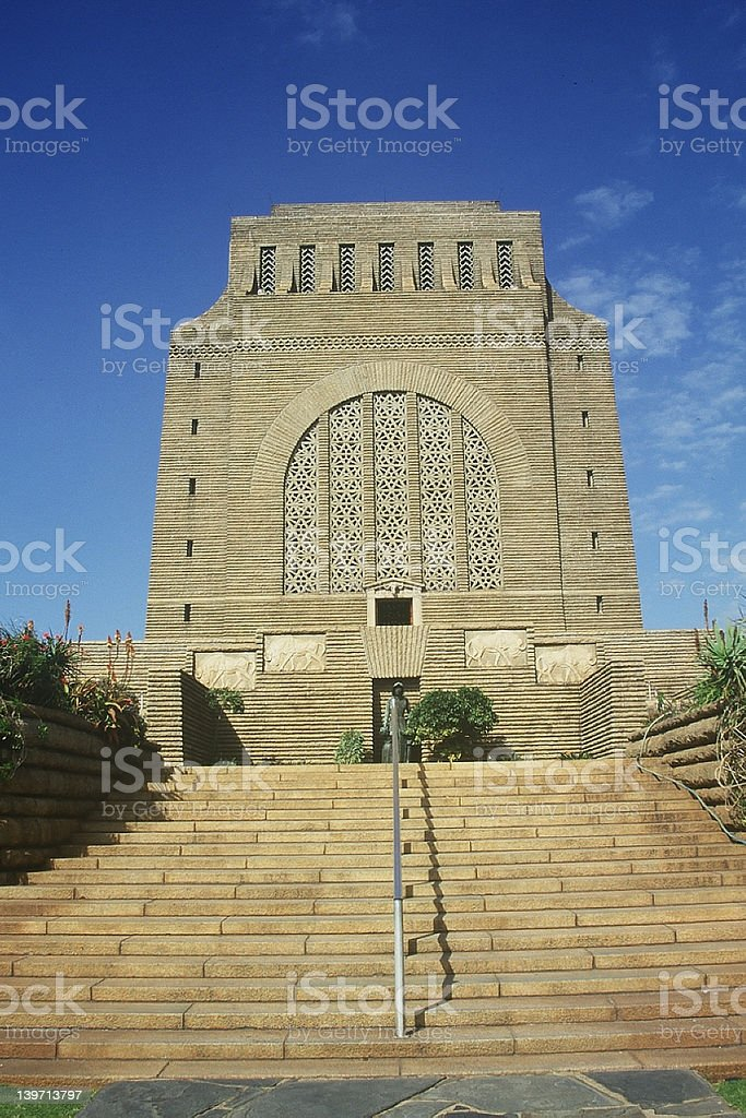 Voortrekkers monument in Pretoria - South Africa stock photo