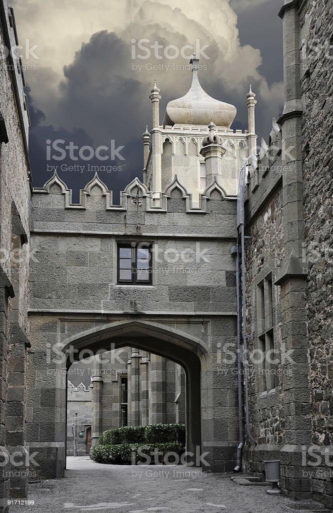 Vorontsovsky palace inside stock photo