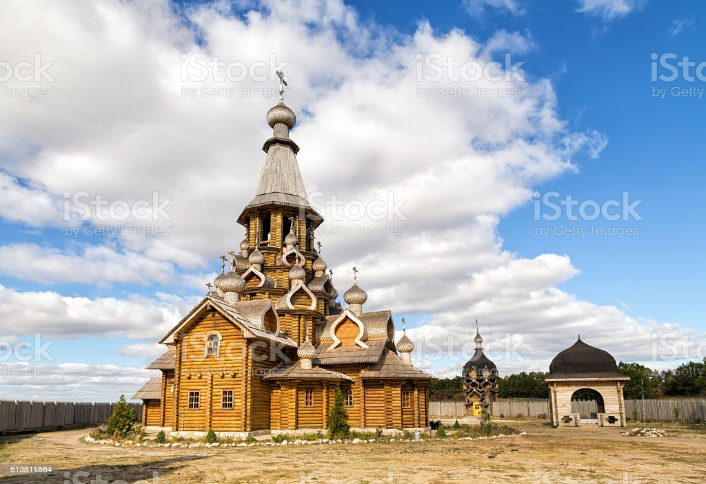 Voskresensky New Jerusalem Monastery. Village Sukharevo. Russia stock photo