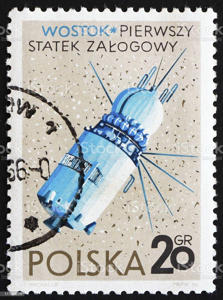 Vostok, USSR Spacecraft stock photo