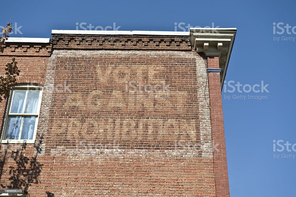 Vote Against Prohibition Historical Sign royalty-free stock photo