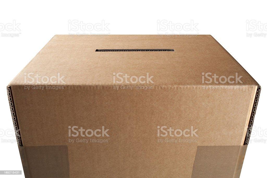 Vote. Ballot box. royalty-free stock photo