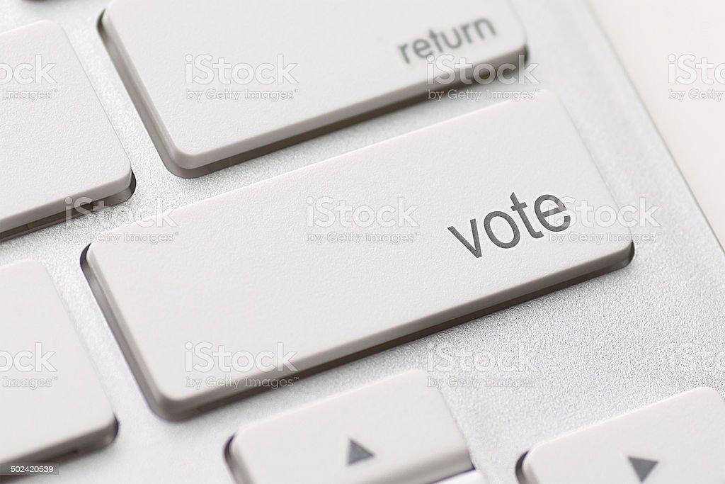 vote button royalty-free stock photo