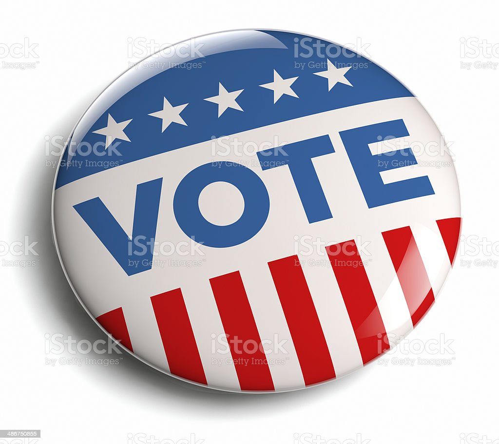 Vote campaign stock photo