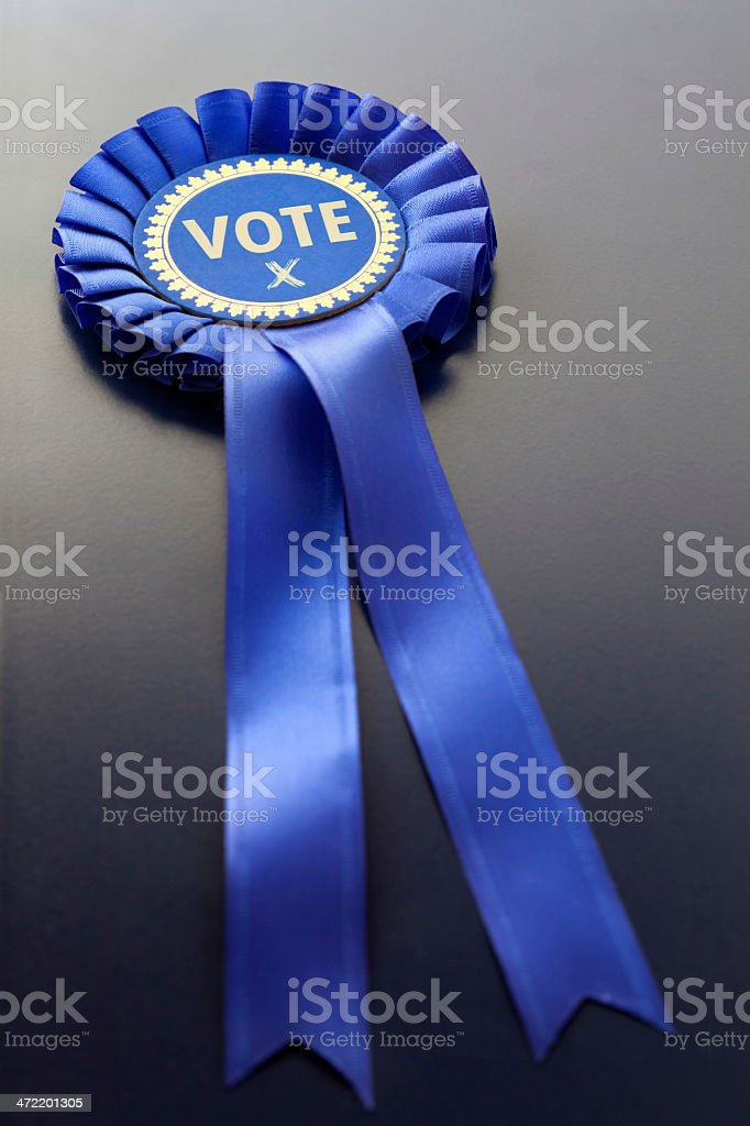 Vote Conservative stock photo