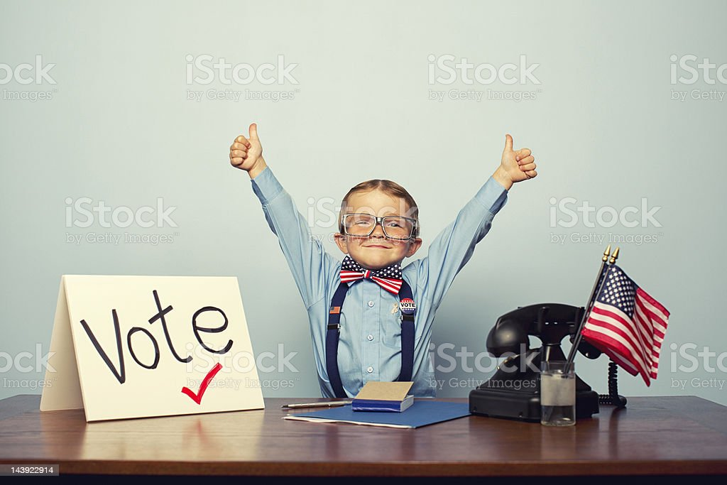 Vote! stock photo