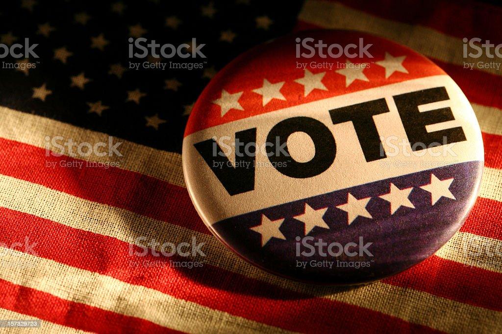 Vote royalty-free stock photo